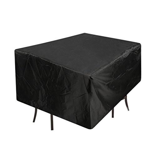 ファニチャー カバー BIGWING テーブルカバー 防水 防塵 防風 多機能 家具カバー (135*135*75CM)