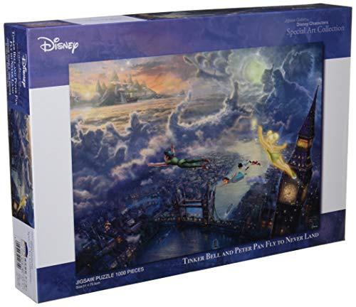 1000ピース ジグソーパズル ピーターパン Tinker Bell and Peter Pan Fly to Neve・・・