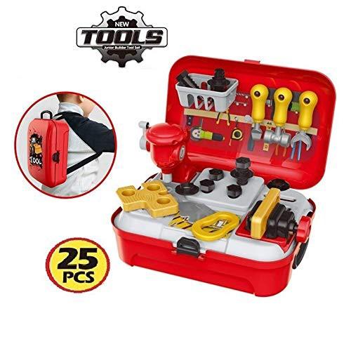 CORPER TOYS 大工さん おままごと 工具セット 工具おもちゃ ごっこ遊び なりきり 工具ボックス 収納リュック・・・