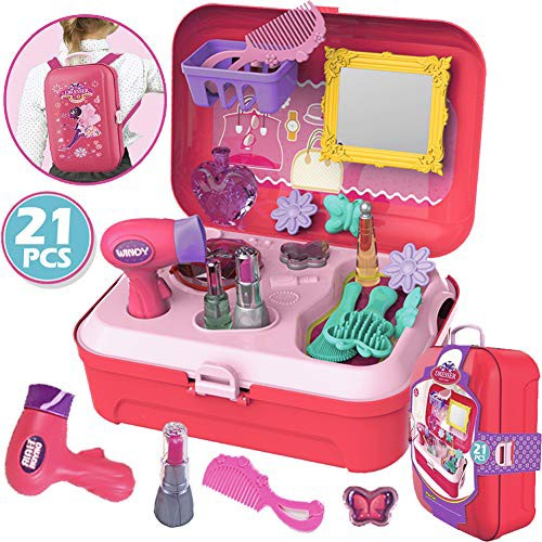 CORPER TOYS おままごと お化粧 ごっこ遊び メイクセット メイクアップ お化粧おもちゃ メイクおもちゃ 女の・・・