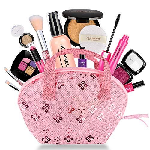 BeebeeRun メイクおもちゃ 化粧おままごとセット 女の子 メイクごっこ遊び 化粧品おもちゃ 化粧バッグ付き 子供・・・