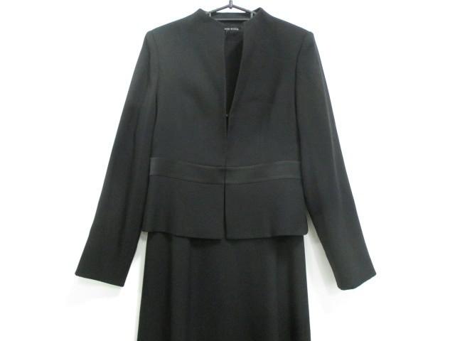コーガマリコ MARIKO KOHGA ワンピーススーツ サイズ40 M レディース 美品 黒【中古】