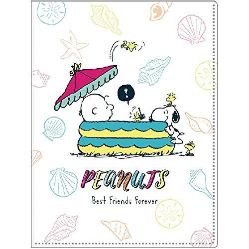 【PEANUTS/ピーナッツ】6+1ファイル スヌーピー プール p-13691