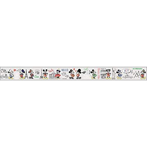 ディズニー YOJOテープ 養生テープ マスキングテープ 幅広 ミッキー&ミニー dz-80747