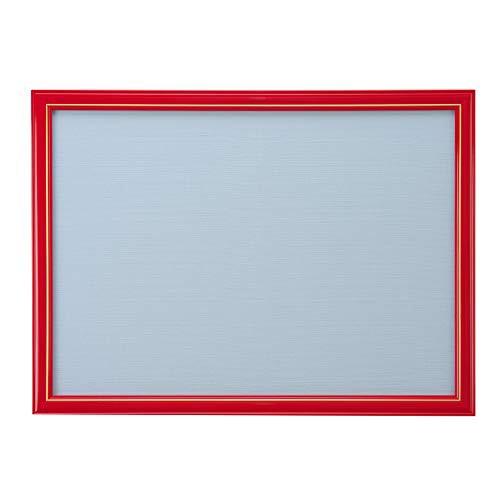 ジグソーパズルフレーム ニューDXウッドフレーム5B 赤 レッド 木製パネル 500ピース 38×53cm