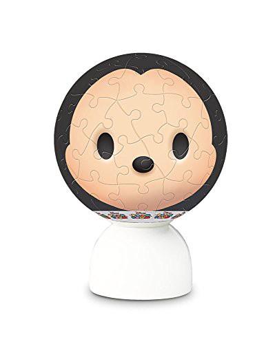 ディズニー ツムツム ミッキーマウス パズランタン 3D 球体 ジグソーパズル アニメ キャラクター 60ピース