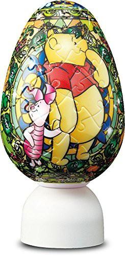 ディズニー ジュエル くまのプーさん パズランタン 3D 球体 エッグ ジグソーパズル アニメ キャラクター 80ピース