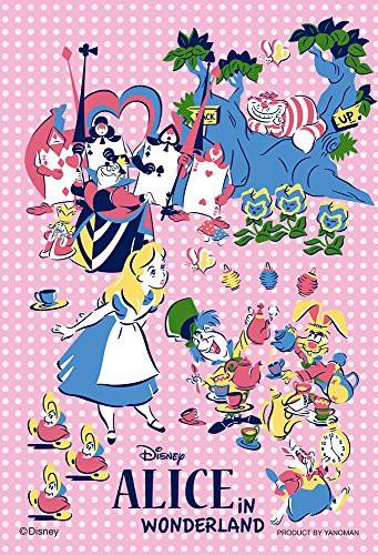 ディズニー 夢の時 アリス ふしぎの国のアリス プチライト ジグソーパズル アニメ キャラクター 99ピース 10x14.7cm