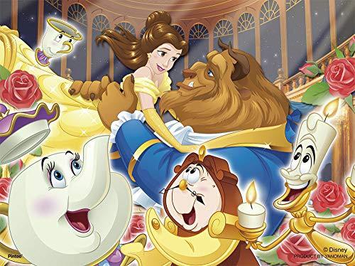 ディズニー ワルツを一緒に 美女と野獣 プチパリエ ジグソーパズル アニメ キャラクター 150ピース イーゼル付き