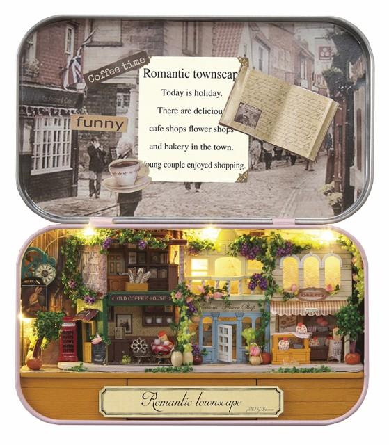 ミニチュアット Miniature't ミニチュアハンドメイドキット ロマンチックな街角