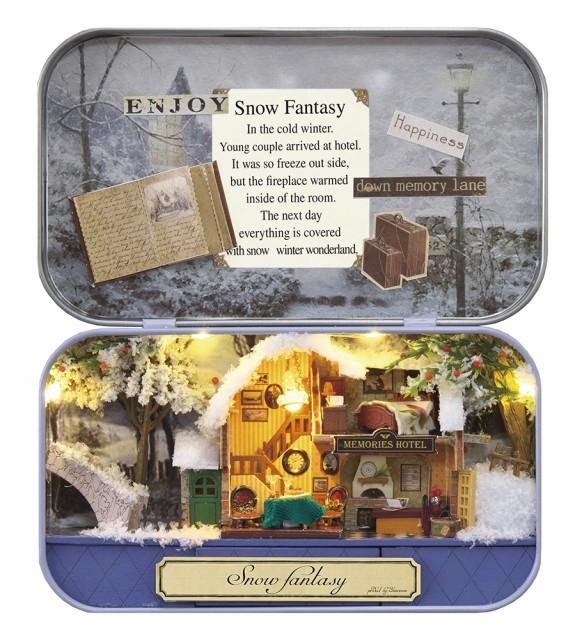 ミニチュアット Miniature't ミニチュアハンドメイドキット 雪のファンタジー