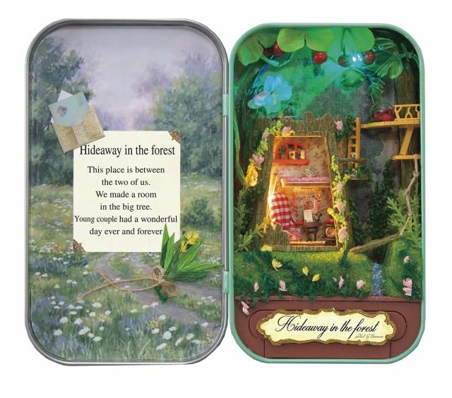 ミニチュアット Miniature't ミニチュアハンドメイドキット 森の隠れ家