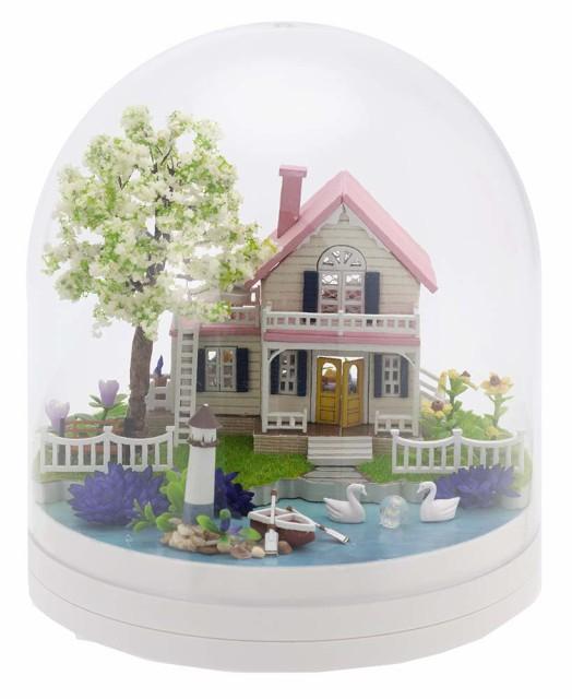 ミニチュアット Miniature't ミニチュアハンドメイドキット 水辺のコテージ
