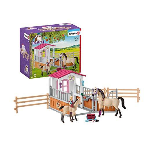 シュライヒ Schleich ホースボックス(アラビア馬とグルーマー付き) HORSE CLUB