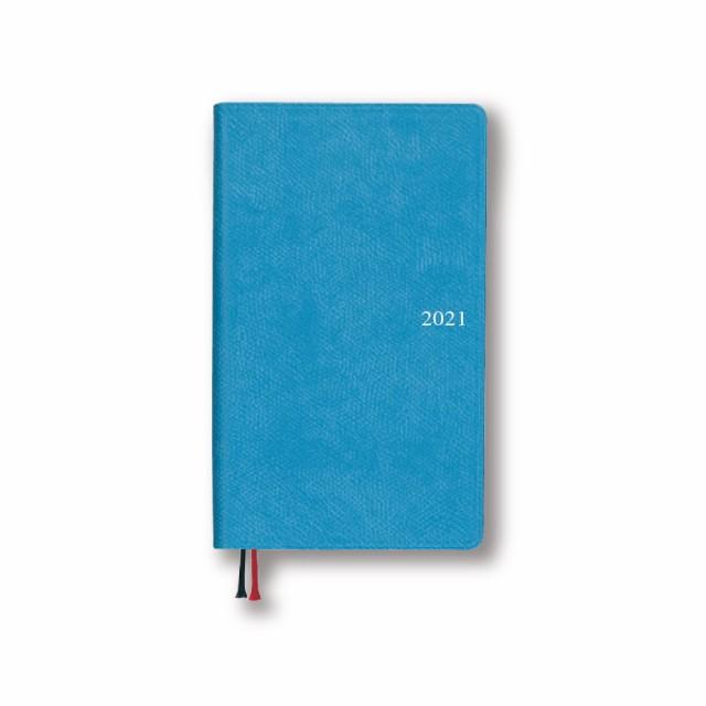 ダイゴー 2021年1月始まり手帳 アポイント Appoint 1週間+横罫 ブルー
