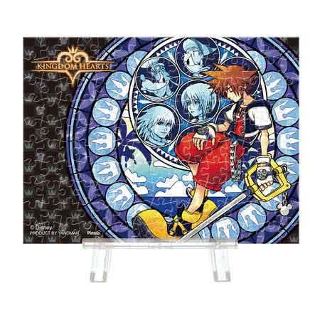 ディズニー キングダムハーツ プチパリエクリア KINGDOM HEARTS ジグソーパズル 150ピース 7.6×10.2cm