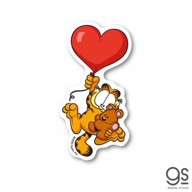 ガーフィールド キャラクターステッカー バルーン ミニステッカー アメリカ アニメ Garfield 猫 GF011 gs 公式グッズ