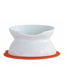 ハリオ にゃんプレ ダブル ホワイト HARIO 猫 食器 餌入れ フードボウル 猫用 えさ入れ 陶器 食べやすい 高さがある 電子レンジ可 日本製