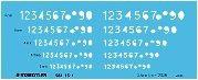 ステッドラー 文字用テンプレート 数字定規 0.5mmシャープペンシル用 981-15-1