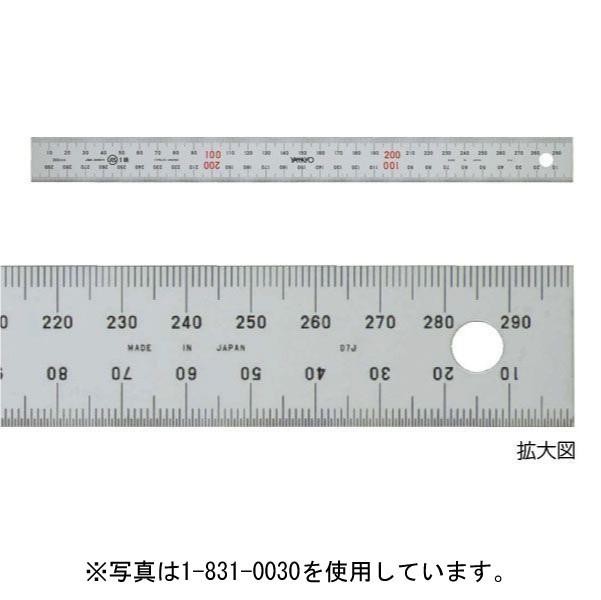ヤマヨ測定機 ユニオン直尺 30cm 品番:1-831-0030 (マービー)