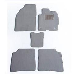 送料無料 天野 AMANO パッソ/セッテ 年式:H20 型式:M512E フロアマット一式 エクセレント [カラー:プレーンベージュ] カー用品