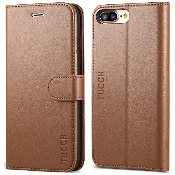 1bafe91d50 iPhone8 Plus ケース 手帳型 アイフォン7プラスケース 合皮 TPU カード収納 スタンド機能. iPhone 8 ...