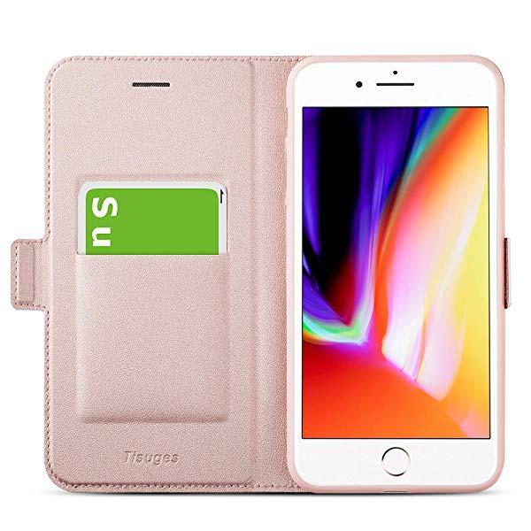 04ee437299 iphone8 ケース iphone7 ケース 手帳型 薄型 スマホカバー PUレザー 全面保護 耐衝撃 カード収納