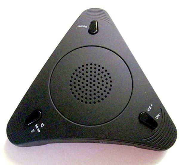 WEB会議やプライベートでの会話に使用のスピーカーフォン・SKYPE スピーカー フォン マイク内蔵で、電話や会議に便利なスカイプ ...