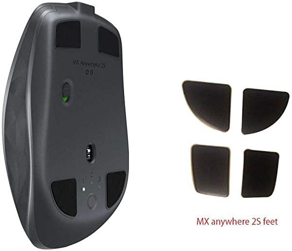 LogiTech MX Anywhere 2S 交換MXマスターマウスフィート 交換部品 PTFE テフロンテープ コンピューター ゲーミングマウス フィー...