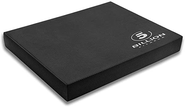 バランスマット バランスパッド 伸張 クッション リハビリ ストレッチ バランスエクサ サイズ (ブラック L)