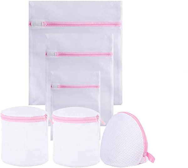 洗濯袋セット ランドリーネット 各種 サイズ バッグ 再利用可能な丈夫な細かいメッシュの洗濯袋 旅行収納袋 家庭用 細かい網目 ...