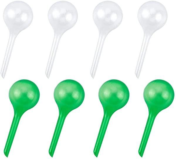 自動散水装置 調節可能な水流 散水 16個 模造ガラス玉散水装置 自動散水システム 植物 散水球根 自動 散水グローブ プラスチック...