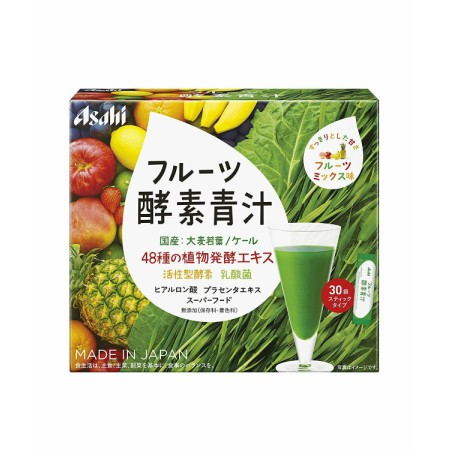 アサヒグループ食品 フルーツ酵素青汁 30袋 【10個セット】【お取り寄せ】(4946842638994-10)