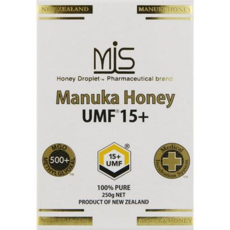 MISマヌカハニー UMF15+ 250g【お取り寄せ】(9421904179059)