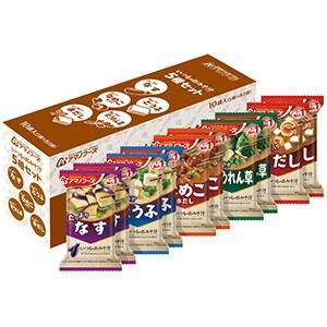 いつものおみそ汁 5種セット(10食入)アマノフーズ (4971334209635)