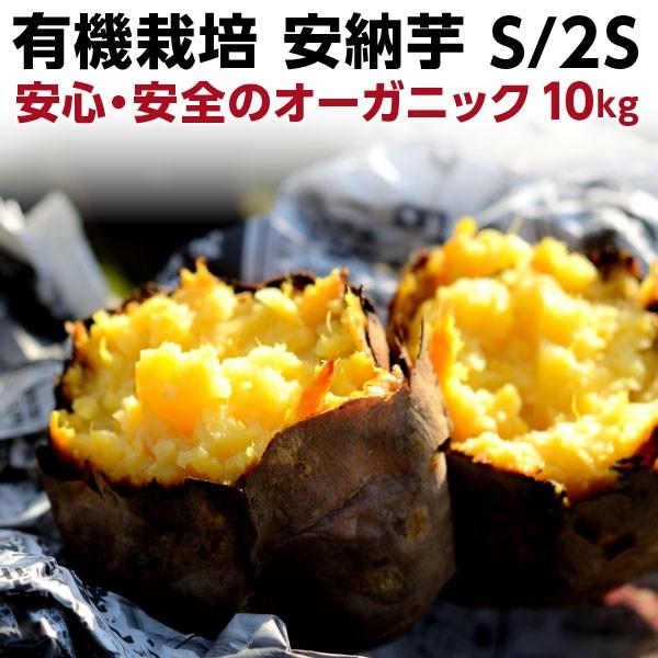 有機 プチ安納芋 安納いも あんのう芋 早割 蜜芋 五島列島 オーガニック S/2Sサイズ 10kg
