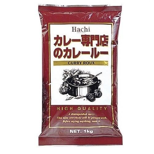 ハチ食品 カレー専門店のカレールー1kg