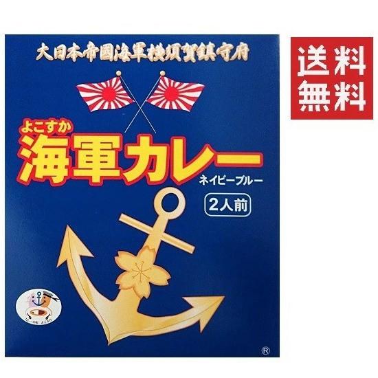 よこすか海軍カレーネイビーブルー2食入り(各180g) 送料無料