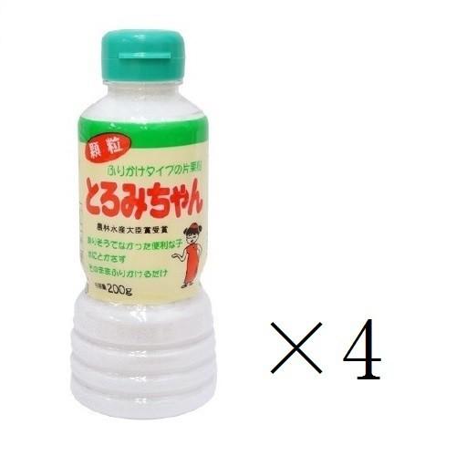 丸三美田実郎商店 顆粒片栗粉 とろみちゃん 200g×4本 まとめ買い