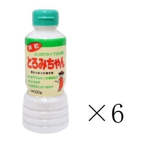 丸三美田実郎商店 顆粒片栗粉 とろみちゃん 200g×6本 まとめ買い