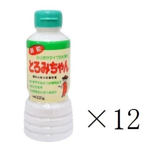 丸三美田実郎商店 顆粒片栗粉 とろみちゃん 200g×12本 まとめ買い