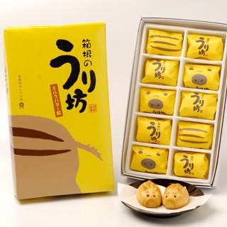 箱根のうり坊(ミルクバター餡饅頭)