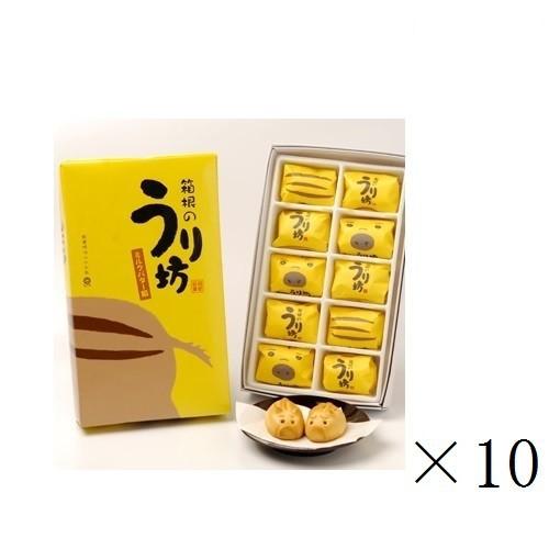 【まとめ買い】箱根のうり坊(ミルクバター餡饅頭)×10箱