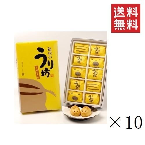 【まとめ買い】箱根のうり坊(ミルクバター餡饅頭)×10箱 送料無料