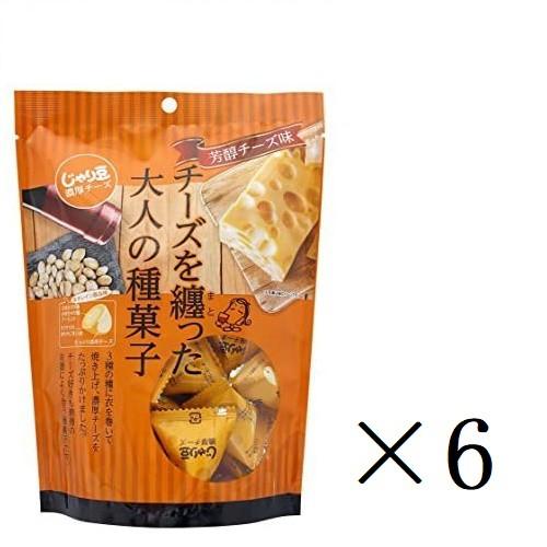 東海農産 トーノー 業務用 じゃり豆 濃厚チーズ(80g)×6個 まとめ買い 個包装