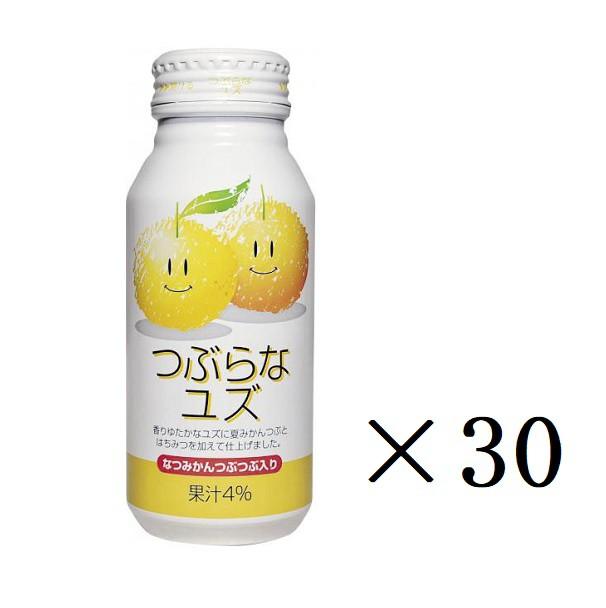 JAフーズおおいた つぶらなユズ 190g×30本 缶 まとめ買い 柚子 ゆず 飲料 まとめ買い