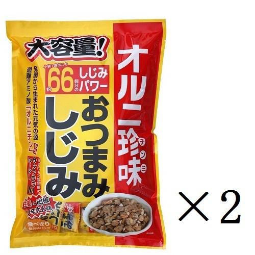 まとめ買い トーノー 業務用 オルニ珍味 業務用おつまみしじみ 280g(個包装)×2袋
