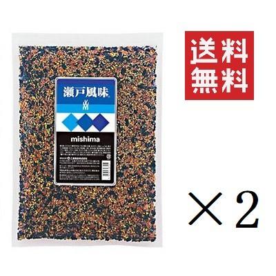 三島食品 瀬戸風味 500g×2個 ふりかけ トッピング 業務用 大容量 まとめ買い 送料無料