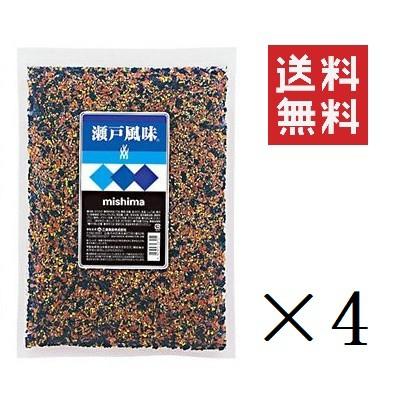 三島食品 瀬戸風味 500g×4個 ふりかけ トッピング 業務用 大容量 まとめ買い 送料無料