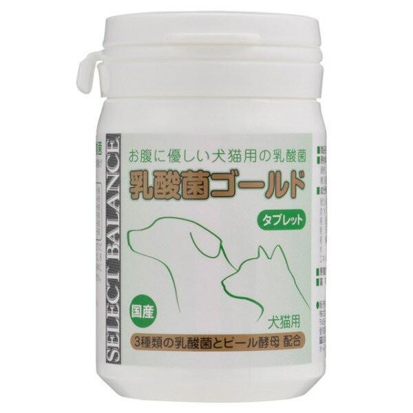 犬猫用サプリ ベッツ・チョイス・ジャパン セレクトバランス乳酸菌ゴールド 犬猫用 タブレット 45g